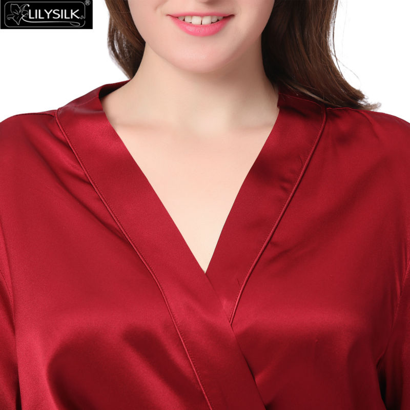 1000-claret-22-momme-mini-cut-silk-robe-plus-size-02