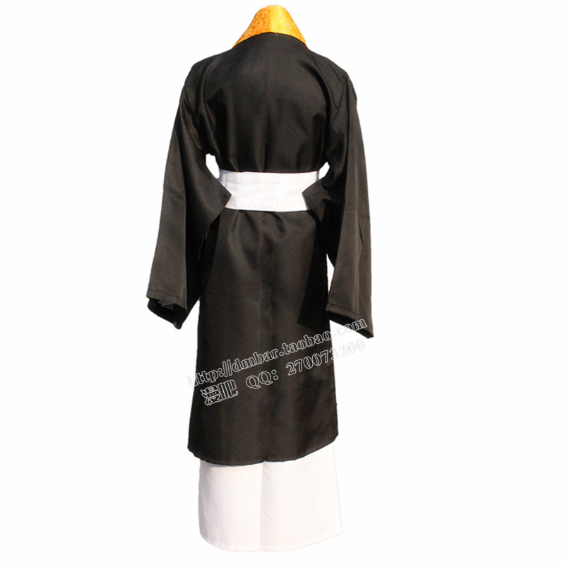 New Arrivals Gugure!Kokkuri-san Shigaraki Kimono Coat Outfit For Men Uniform Halloween Anime Cosplay Costume