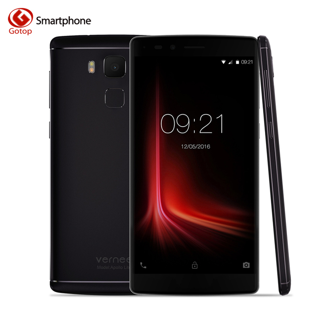 Original Vernee Apollo Lite Smartphone 5.5 Inch Android 6.0 MTK6797 Deca Core Mobile Phone 4G RAM 32GB ROM 16.0MP 4G Cell Phone