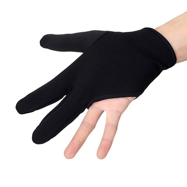 Peluquería tres dedos guante resistente al calor dedo proteger el alisado del cabello rizado estilo Accesorios HS1