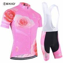 Bxio Brand New Women Cycling Jersey Set Unique Style Bicycle Short Sleeve Road Bike Clothing Roupas De Ciclismo Equipacion 121