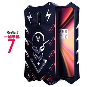 Image 3 - Oneplus 7 pro case Metal fundas Rigid neat case for Oneplus 7 pro Powerful Shockproof case for oneplus 7 Zimon iron body coque