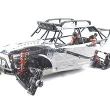 1/6 GROWLER X1 2WD Электрический Rc автомобиль электрический пустынный грузовик UFRC Growler X1(8 S) роликовая версия+ мотор, прозрачный корпус