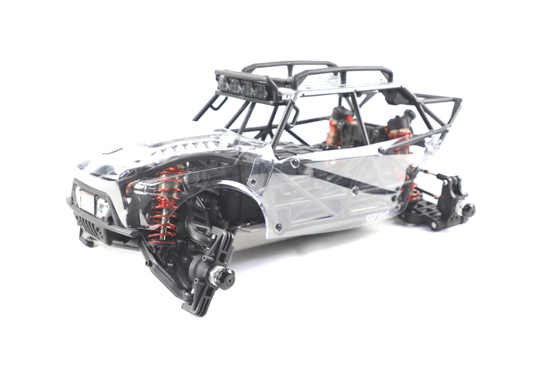 Klar Körper Shell Angenehme SüßE 8 S 1/6 Brummstimme X1 2wd Elektrische Rc Auto Elektrische Wüste Lkw Ufrc Brummstimme X1 Motor Roller Version