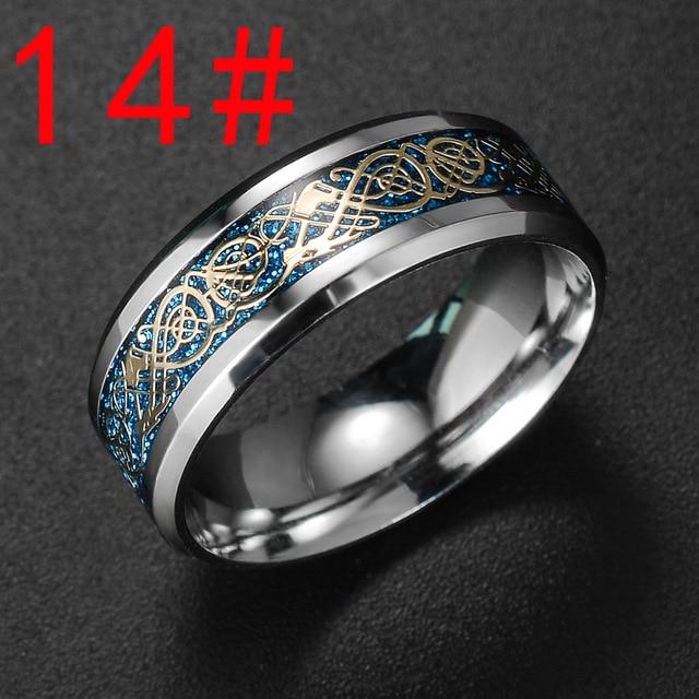 Купить модное украшение новый стиль кольцо с золотым драконом и горячее