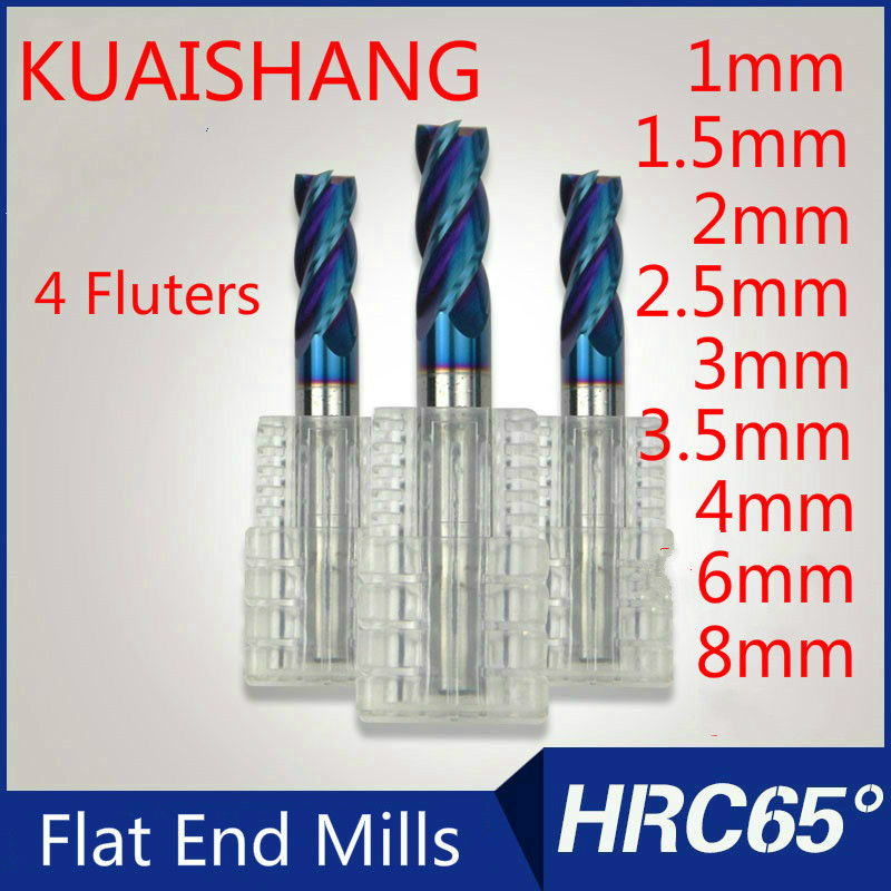 5PCS cut 22mm Ø 3.175mm 1//8 inch single 1 Flute CNC Carbide End Mill acrylic PVC