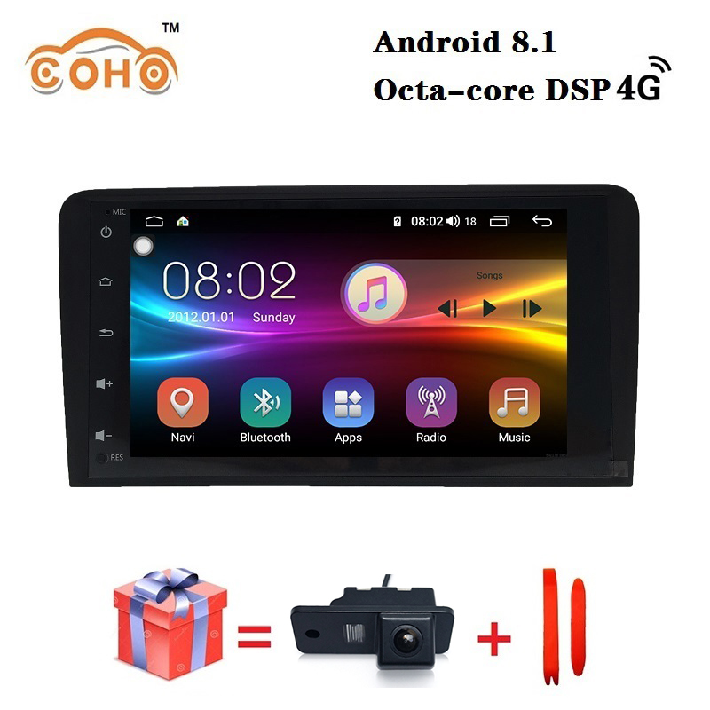 IPS Android 9.0 8-core 4/64G 2008-2013 Audi A3/TT android autoradio vidéo GPS navigation Carplay DSP support WIFI 4G
