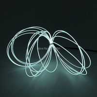 Car Internal Decor Super Bright 10 Color Choice 1.3mm 10Meters With 5V USB Driver EL Wire Rope Led Strip Flexible Neon Light