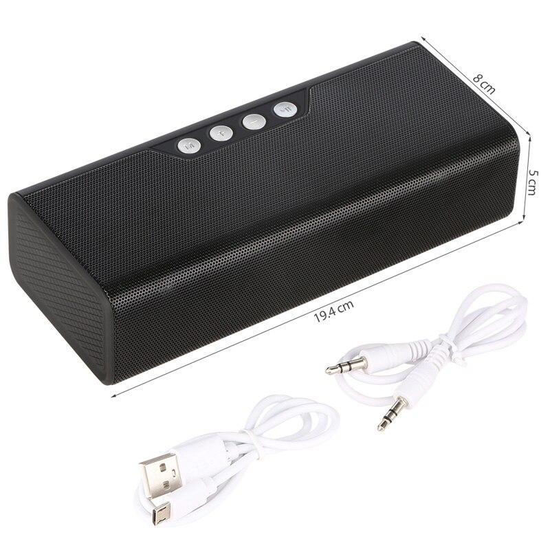 Wireless Mini Bluetooth Speaker FM Radio10w Portable Music Center Sound Box Pc Desktop Computer Louderspeaker AUX TF USB Speaker
