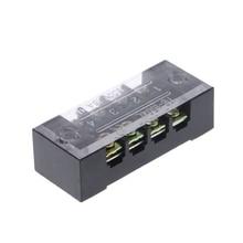 600 V 15A 4 положения двойной ряд покрытый шлагбаум клеммный блок прокладки W-store Oct31_A