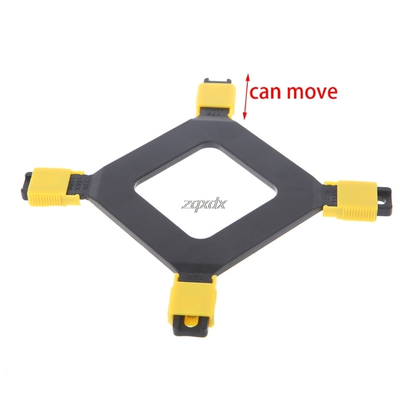 New Multi-Platform 775/1155/1156/1366 CPU Backplane Desktop Computer Common Backplate CPU Cooler Bracket Z17 Drop ship ...