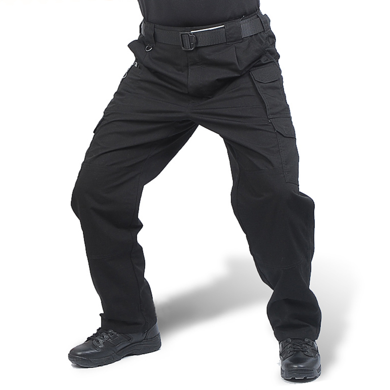 Clothing Men Tactical Pants Army Military Casual Solid Multi Pockets Cargo Pants Wear Resistent Male Trousers Ripstop