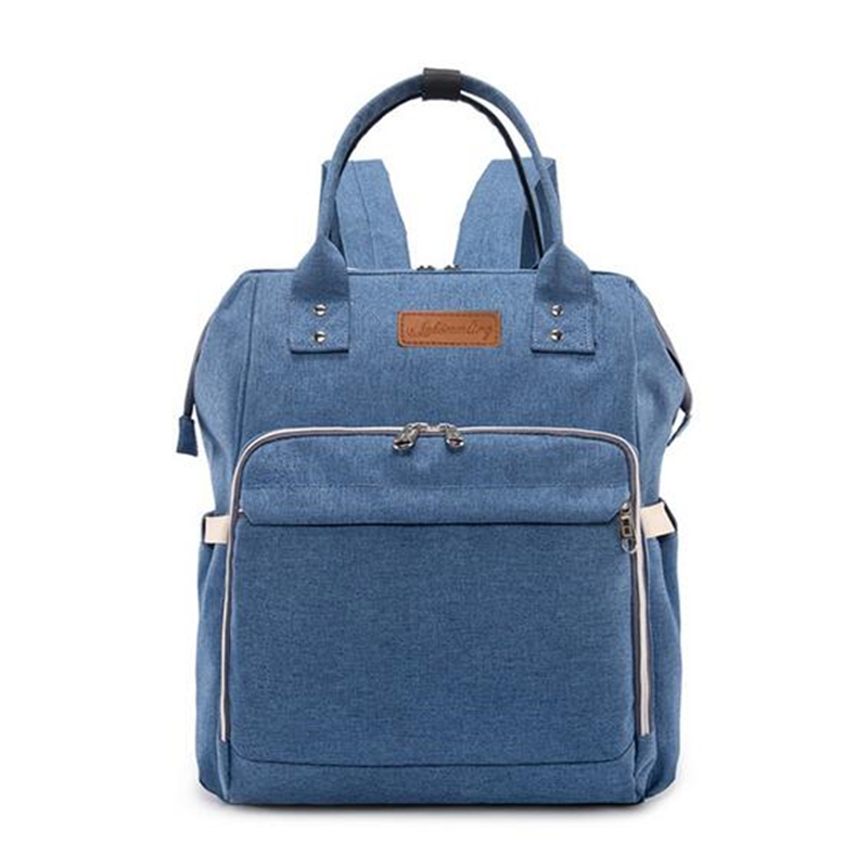 HTB1 RWmbozrK1RjSspmq6AOdFXaR 23 Colors Fashion Mummy Maternity Nappy Bag Large Capacity Baby Diaper Bag Travel Backpack Designer Nursing Bag for Baby Care