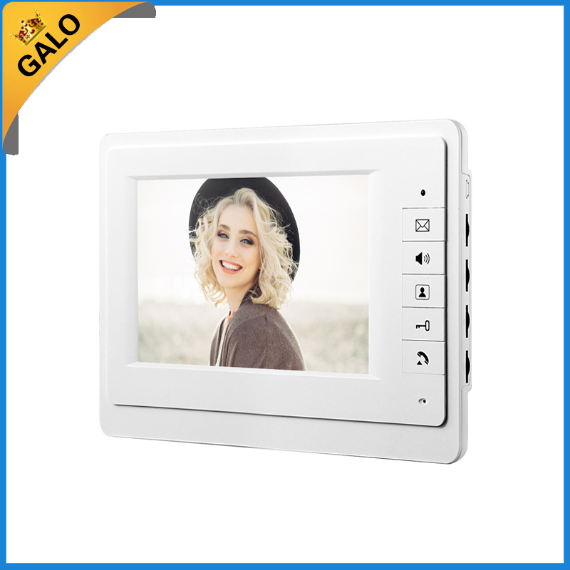7inch colour TFT-LCD visual doorbell/Video door phone/Intercom Speakerphone Intercom Video door bell  Video Intercom