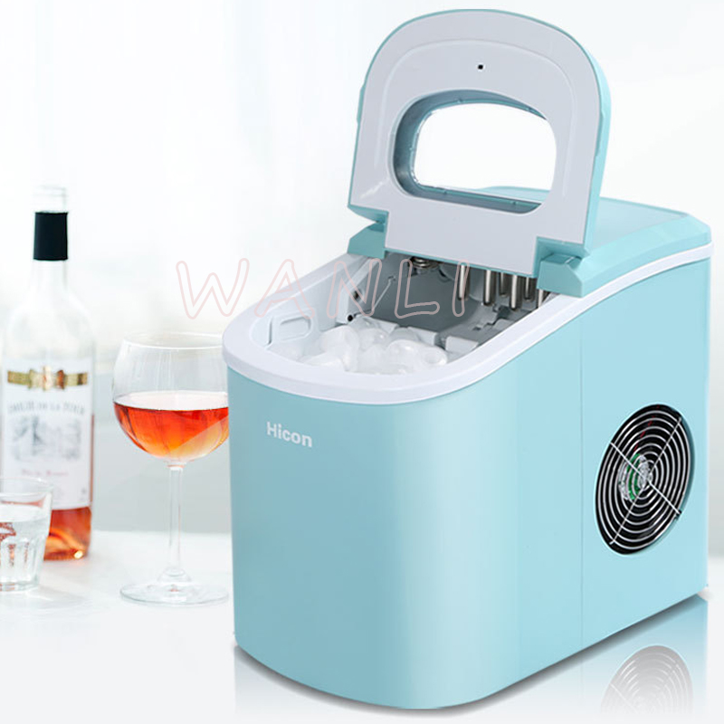 15kgMini Automatic Electric Ice Machine / Portable Bullet Round Ice Making Machine / Small Bar Coffee Shop  / 220V