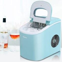 15kgMini automatische elektrische ijs machine/draagbare bullet ronde ijs making machine/kleine bar koffie winkel/220 V