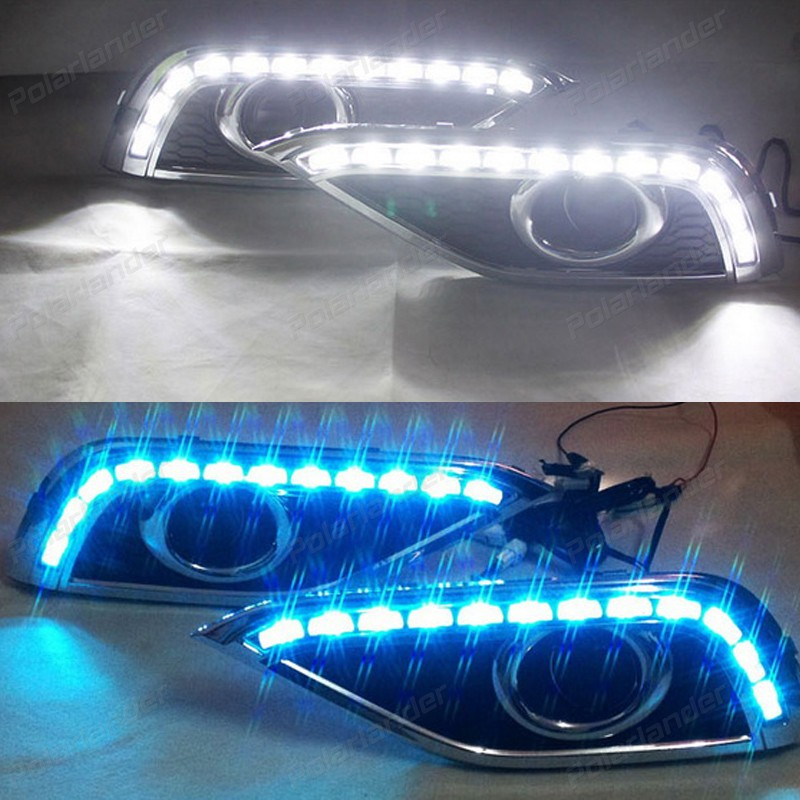 auto accessory 2pcs drl led Car styling daytime running lights for H/onda C/RV 2012-2015 2 pcs auto accessory drl for f ord k uga or e scape 2013 2015 car styling daytime running lights