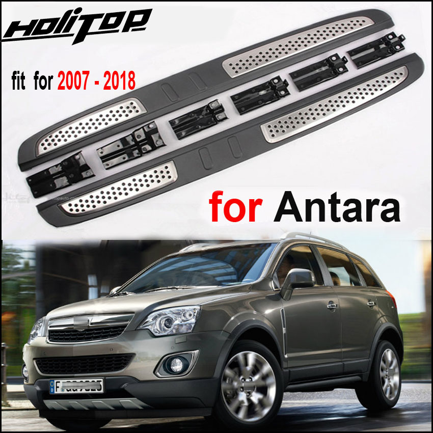 New arrival side step foot bar pedals nerf bar running board for Opel Antara 2007-2018.ISO9001 quality factory,OE MODEL.