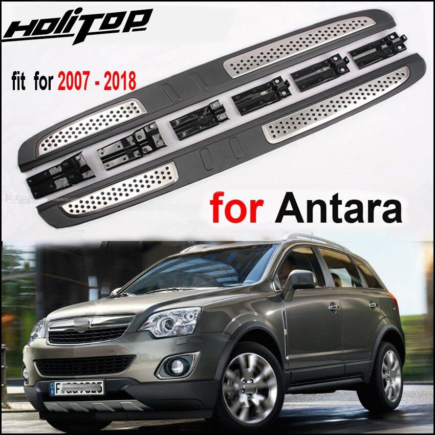 Yeni varış yan adım ayak bar pedallar nerf bar koşu kurulu Opel Antara için 2007-2018.ISO9001 kaliteli fabrika, OE MODEL.
