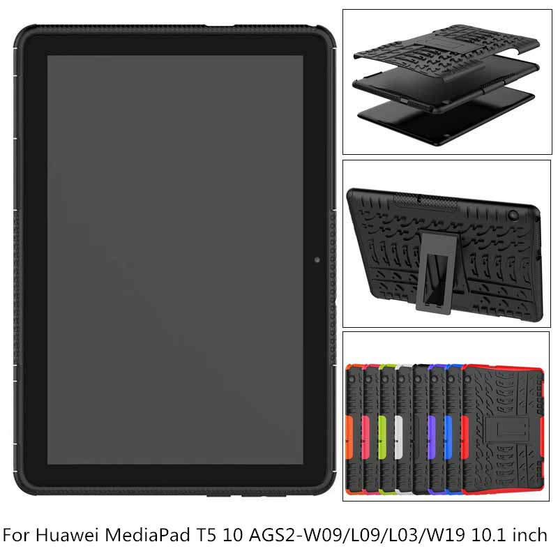 Case For Huawei MediaPad T5 10 Heavy Duty Hybrid Rugged Durable Funda Tablet Shell AGS2-W09/L09/L03/W19 10.1