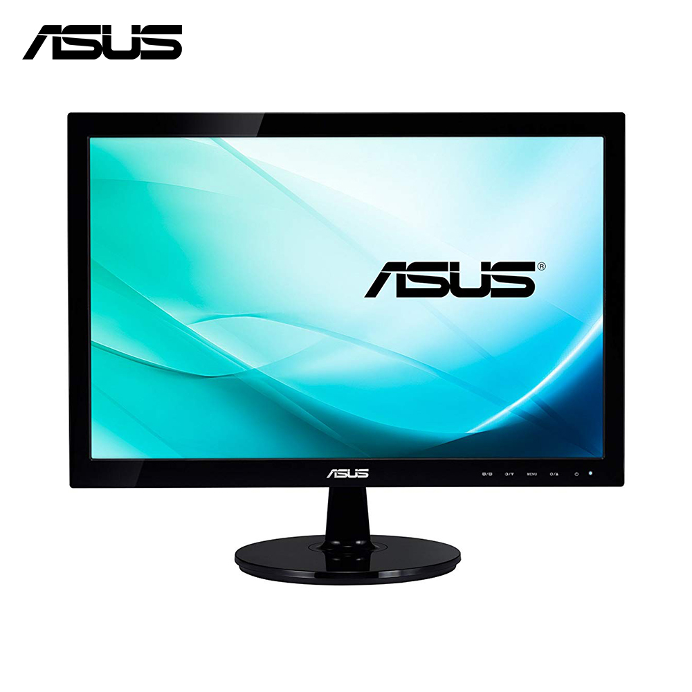 ASUS VS197DE, 18.5 pouces, 1366x768 pixels, 16:9, WXGA, LED, 5 ms, moniteur LED-noir