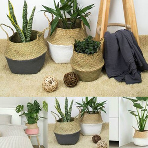 Handmade Bamboo Storage Basket