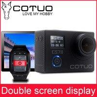 Nuevo Cámara de Acción COTUO CS78 30m impermeable 2,0 'pantalla LCD 1080p 30fps 16MP WIFI remoto Mini cámara deportiva go Extreme pro Cam 4000