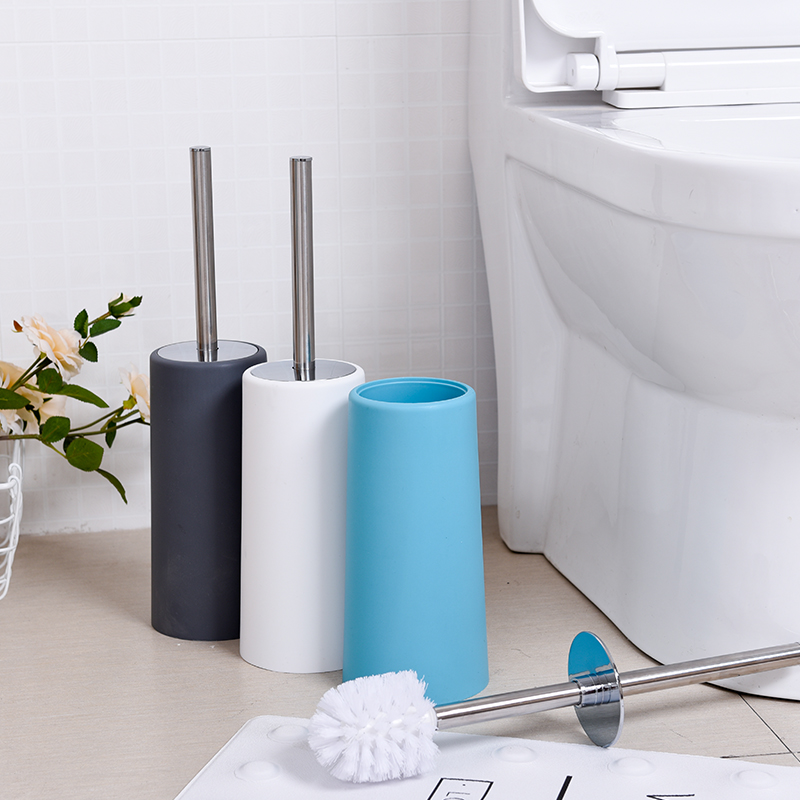 304 Stainless Steel Toilet Brush Holders Bath Hardware Sets Durable Type Plastic Toilet Brush Holders Bathroom Accessories Sets 5pcs 304 stainless steel capillary tube 3mm od 2mm id 250mm length silver for hardware accessories