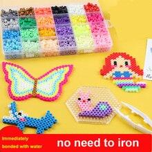 New beads Magic Beads Puzzles DIY Kids Toys Birthday  Hama Perler Perlen 3d Puzzle
