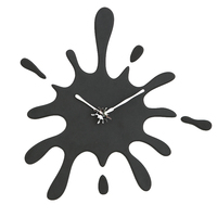 Modern american style personalized household silent pocket watch decoration water drop shape clock