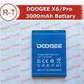 DOOGEE X6 Battery 100% Original 3000mAh Battery Replacement back-up batteries for DOOGEE X6 and DOOGEE X6 Pro cellphone