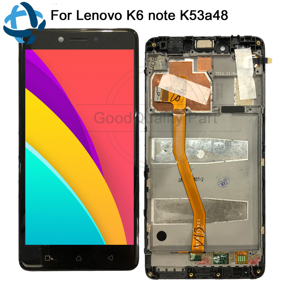 5.5For Lenovo K6 NOTE LCD Display Touch Screen Digitizer Replacement For Lenovo K6 NOTE Display k53a48 LCD Assembly 100% tested5.5For Lenovo K6 NOTE LCD Display Touch Screen Digitizer Replacement For Lenovo K6 NOTE Display k53a48 LCD Assembly 100% tested