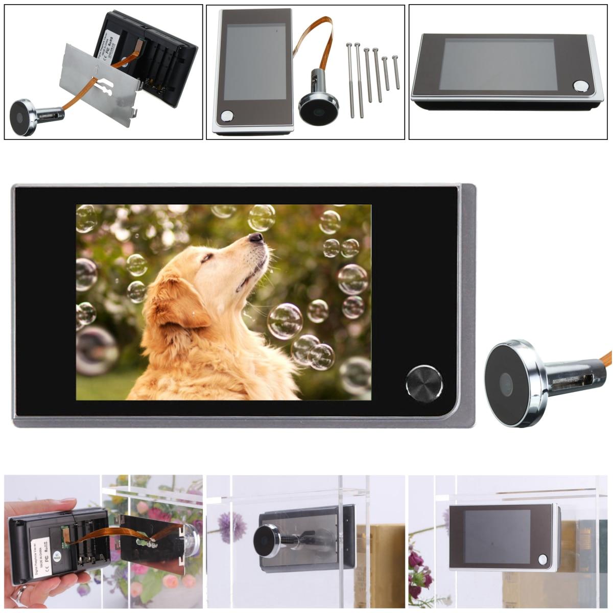3 5inch Digital 120 Door Peephole Peep Hole Video Doorbell Viewer Camera Monitor