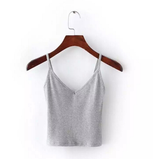 181e9f7f4a Aliexpress.com : Buy Sexy Fitness Slim fit Tight Camis 2016 New Brandy  Melville crop Top Camisetas Tank Vest Striped Line Short Tee 6 colors from  Reliable ...