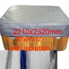 """Спа мешок крышки с изоляции хорошо для Винер, size2210x2320x300 мм 8"""" x 91"""". X 12 В.) можно настроить"""