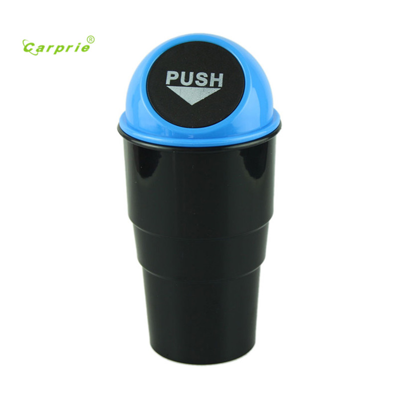 Auto car-styling car styling NEW car garbage can Car Trash Can Garbage Dust Case Holder Bin mar07