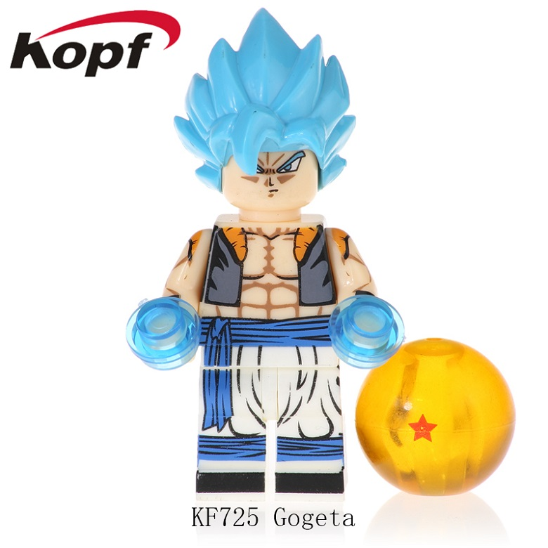 Single Sale Building Blocks Model Collection Dragon Ball Gogeta Son Goku Vegeta Vegetto Mira Toys For Children KF725
