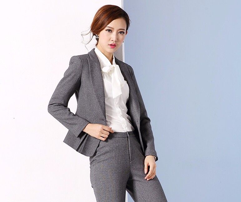 9d886171a Korean 2016 Office Uniform Designs Women Plus Size Women Business Suits  Formal Office Suits Work Brand Women Office Skirt Suit