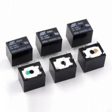 5Pcs 5V 12V 24V 20A DC Power Relay SRA-05VDC-CL SRA-12VDC-CL SRA-24VDC-CL 5Pin PCB Type In stock Black Automobile relay