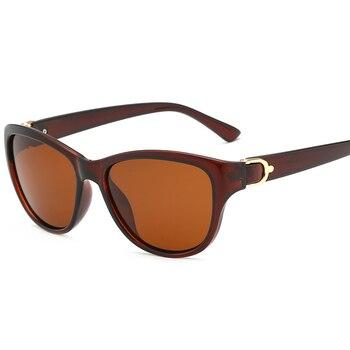 2020 Luxury Brand Design Cat Eye Polarized Sunglasses Men Women Lady Elegant Sun Glasses Female Driving Eyewear Oculos De Sol - C2