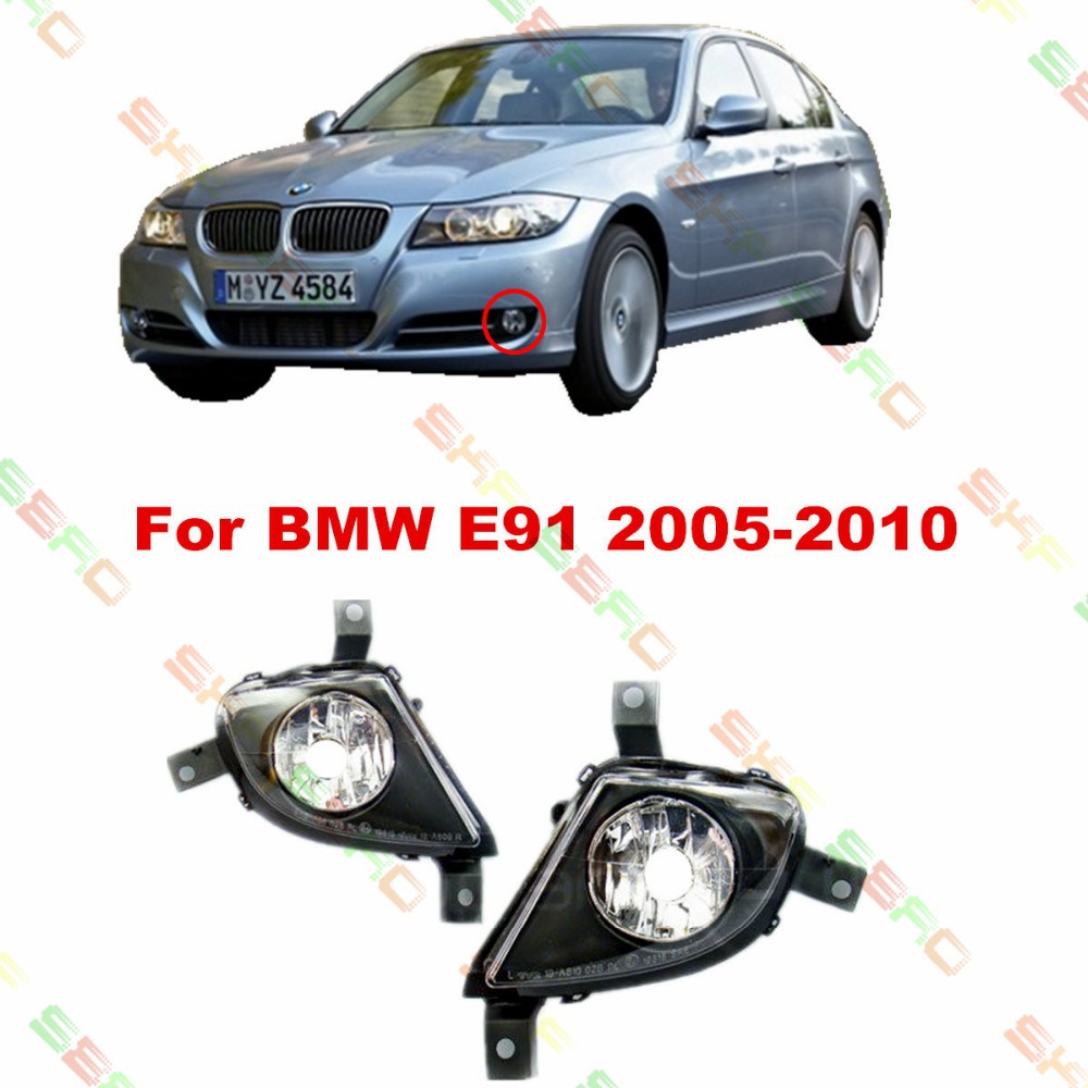 For BMW E91  2007/08/09/10  car styling fog lights   1 SET FOG LAMPS free shipping smile cordyceps professional whitening cream 5 in 1 100% herbal no mercury