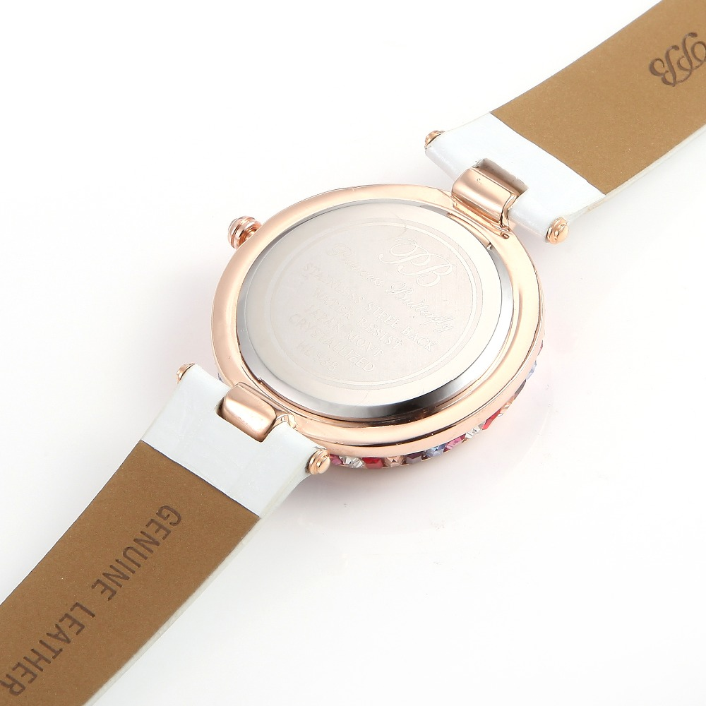 97154e623 Designer Watch UK Girls Diamond Chinese Watches Famous Full Rhinestones  Ladies Brand Wristwatch Bling Dress Orange HL538SPB PB-in Women's Watches  from ...