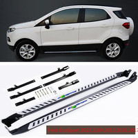 For Ford EcoSport 2013 2104 2015 2016 2017 Car Running Boards Auto Side Step Bar Pedals