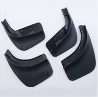 For Volkswagen VW Touareg 2011 2014 Car Styling Fenders Splash Flaps Mud Flaps Guard Mudguard Auto