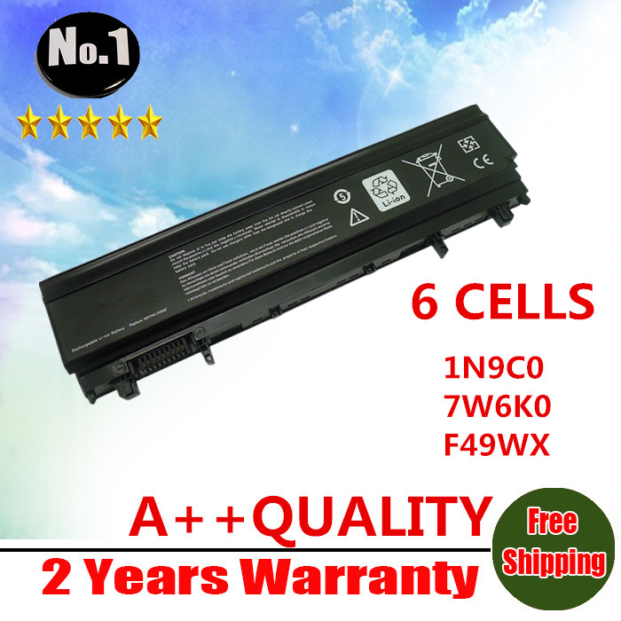 Prix pour Nouveau 6 cellules batterie ordinateur portable N5YH9 VV0NF VVONF VJXMC 0M7T5F 1N9C0 7W6K0 F49WX NVWGM CXF66 WGCW6 pour Dell Latitude E5440 E5540
