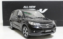 Black New 1:18 Honda CR-V CRV SUV 2012 Collectable Diecast Model Car Kits Building Vehicle Wholesale