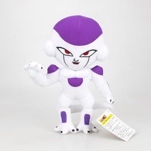 Anime Dragon ball Z Super Saiyan Flisa Freezer 30 cm Macio Stuffed dolls Presente brinquedo de Pelúcia(China)