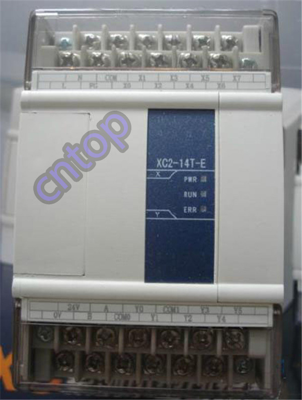 XC2-14T-E XINJE XC2 Series PLC AC220V DI 8 DO 6 Transistor new in box xc e8x8yt xinje xc series plc digital i o module di 8 do 8 transistor new in box