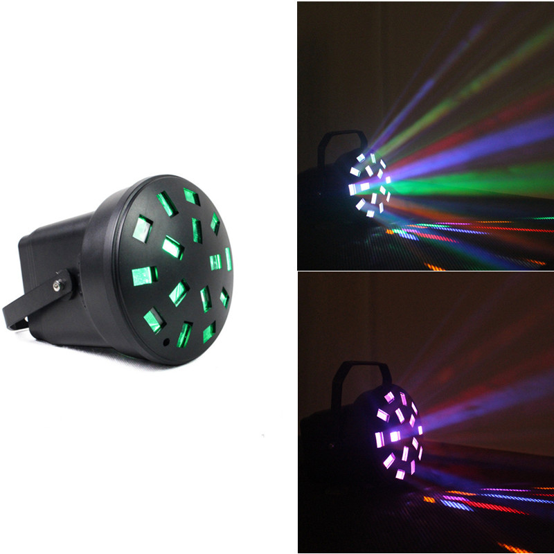 Disco Light Stage Lights 3pcs Patter DJ Party Club Garden Music Christmas Projector Dj Bar Ball Shows