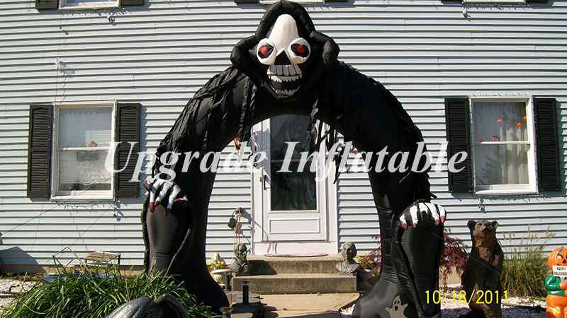 cheap giant 15 foot inflatable halloween decorations arch for party events and club decoration